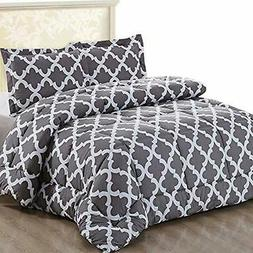 Utopia Bedding Printed Comforter Set  with 2 Pillow Shams -