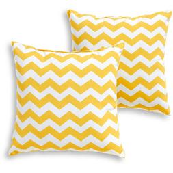 Greendale Home Fashions Outdoor Accent Pillows, Set of 2, Ye