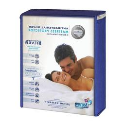Advance Silver 5-Sided Mattress Protector Size: Twin Extra L