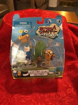 "Adventure Time FINN & JAKE Collector's Pack Figures 2"" NEW C"