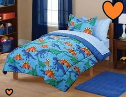 💗 ALL SIZES Kids' Dinosaur  Bed in a Bag Set Bedding Comf
