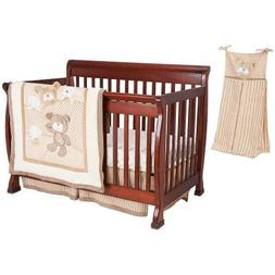 Babies R Us B is for Bear 4-Piece Crib Bedding Set - Tan