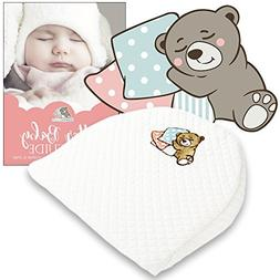 Bassinet Baby Wedge | Infant Wedge Pillow for Reflux Colic |