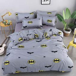 Papa&Mima Batman Grey Simple Brief Polyester Microfiber Duve