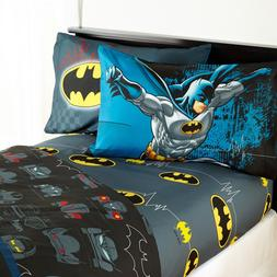 Warner Bros Batman 'Guardian Speed' Kids Bedding Sheet Set T