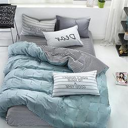 wonbye Bed and Pillow Sheet Bedding Duvet Cover Set, Best Be