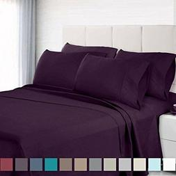 Empyrean Bedding Premium 6-Piece Bed Sheet & Pillow Case Set