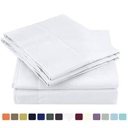 ❤ Bed Sheet Homeideass Set Brushed Microfiber 1800 Dings H