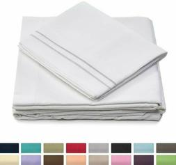 Cosy House 1500 Collection 4 Piece Bed Sheet Set Silky Soft