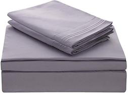 Lux Décor Collection Bed Sheet Set - 1800 Bedding - Brushed