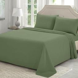 Bed Sheets Set Twin Full King 1500 Microfiber Hypoallergenic