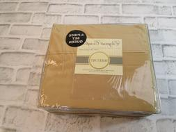 bed sheets size queen 6 piece set