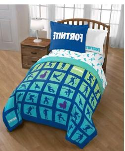FORTNITE   Bedding Set Twin Comforter  SHAM & FORTNITE Sheet