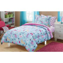 Bedding Sets For Girls Puppy Themed Dog Lovers Comforter Kid