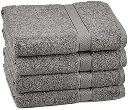 Pinzon Egyptian Cotton Bath Towel Set  - Grey