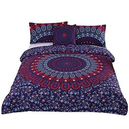 Sleepwish 4 Pcs Love Stretches Bedding Bohemian Retro Indian