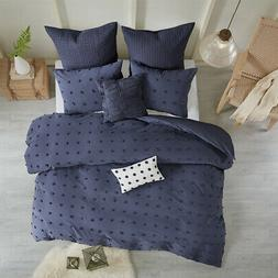 Urban Habitat Brooklyn Cotton Jacquard Duvet Cover Set
