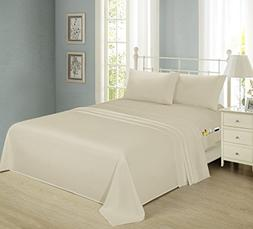 Smart Sheets Brushed Microfiber 4-Piece Bedding Set, Luxurio