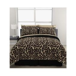 Formula Brushstroke Cheetah Reversible Bed in a Bag Bedding