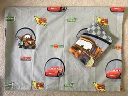 Disney Pixar Cars Kids 2pc Bedding Flat Bed Sheet & Standard