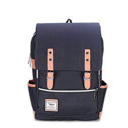 Casual Canvas Laptop Backpack College School Bags Travel Day