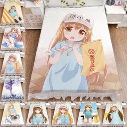 Cells At Work Bed Flat Sheet Japanese Anime Cosplay Platelet