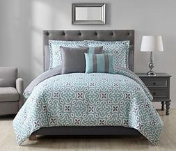 S.L. Home Fashions Cgl-0430 Glenda 10 Pc. Reveresible Bed in
