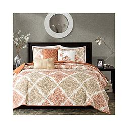 Madison Park Claire 6 Piece Quilted Coverlet Set, King/Calif