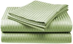 Millenium Linen  Full Size Bed Sheet Set - Sage - 1600 Serie