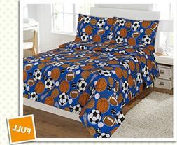 Fancy Collection 4 pc Kids/teens Sports Football Basketball