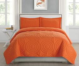 HollyHOME Collection 3 Pieces Luxury Super Soft Solid Patter