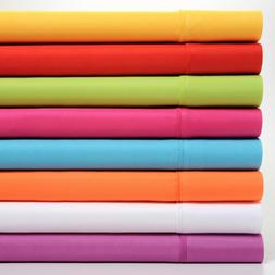 colorful collection soft super bright sheet set