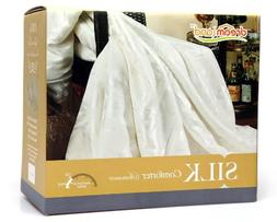 Dreamland Comfort All Natural Mulberry Silk Comforter for Su