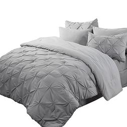 Bedsure 8 Piece Comforter Set Bed in A Bag