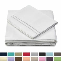 Cosy House Collection Bed Sheets Set 1800 Series Super Soft