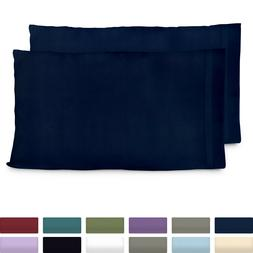 Cosy House Premium Bamboo Pillow Cases Set Ultra Soft Hypoal