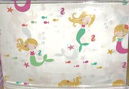 Authentic Kids Mermaid Sheet Set, Twin Size
