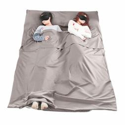 Welove Cotton Sleeping Bag Liner Camping Sheets Sleep Sack C