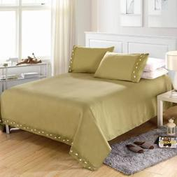 Decor Collection Bedding Set Deep Pocket Fitted Sheet Bed Co