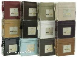 1500 Thread Count 4 pc Bed Sheet Set Available In Various Co