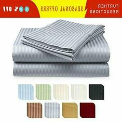 Deep Pocket 6 Piece Bed Sheet Set 1800 Count Egyptian Comfor