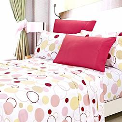 American Home Collection Deluxe 6 Piece Printed Sheet Set Hi