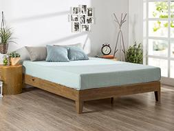 Zinus 12 inch Deluxe Wood Platform Bed/No Boxspring Needed/W