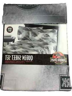 Jurassic World Dino Earthquake Queen Sheet Set