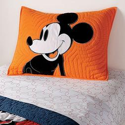 Ethan Allen | Disney  Color Block Mickey Mouse Sham, Standar