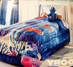 Jumping Beans Disney Finding Dory Twin Comforter and Sheet S