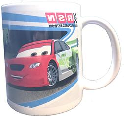 Disney Pixar Cars Lightning McQueen Ceramic Coffee Tea Mug