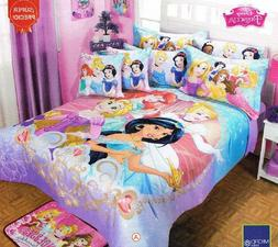 Disney Princess Magic Comforter Bedspread Sheet Set Twin 6PC