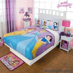 Disney Princess Magic Comforter Purple Fuzzy Fleece Blanket