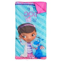 "Disney Doc McStuffins ""The Doc Is In"" Slumber Bag, Bonus Bac"